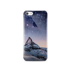 Starry Mounatin IPhone 5S Clear Case
