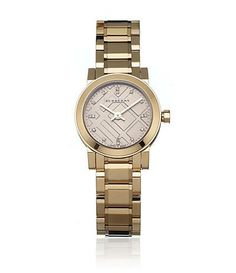 Burberry Rose Gold and Diamond Watch