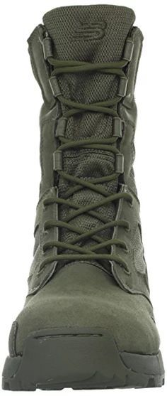 New Balance Tactical Men's Desertlite 8-Inch Boot,Sage Green,6 2E US