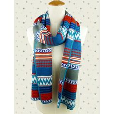 Arrow and Wave Scarf