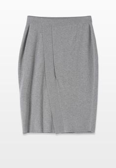 MIXED WS SKIRT WITH SLIT - Skirts - Woman   Stefanel Slit Skirt, Casual, Skirts, Woman, Fashion, Moda, Fashion Styles, Skirt