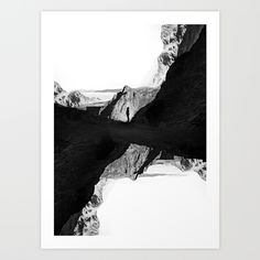 Man of isolation Art Print by Stoian Hitrov - Sto - X-Small Black N White Images, White Art, Love Photography, Landscape Photography, Black And White Aesthetic, Colorful Wall Art, Aesthetic Images, Surreal Art, Double Exposure