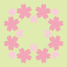 ハワイアンキルト・ベビーキルト用パターン