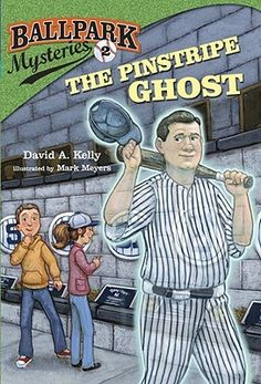 """Read """"Ballpark Mysteries The Pinstripe Ghost"""" by David A. Kelly available from Rakuten Kobo. Batting second—and perfect for Halloween—book in an early chapter book mystery series where each book is set in a dif. New York Yankees Stadium, Book Spine, Halloween Books, Babe Ruth, Mystery Series, Reading Levels, Chapter Books, S Pic"""