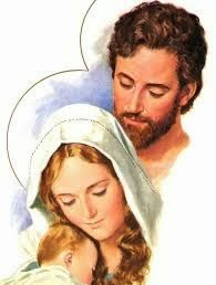 Ide a São José: Santos nomes de Jesus,  Maria e José