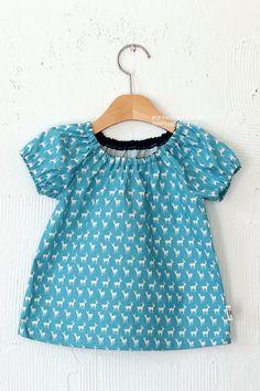 no 260 Ella Raglan Blouse Pattern 6  24 months by sewingwithme1, $6.50