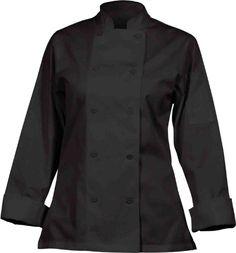 Chef Works CWLJ-BLK Women's Executive Chef Coat, Black, Size S Chef Works http://www.amazon.com/dp/B003KK6X12/ref=cm_sw_r_pi_dp_Jte.ub0MP62VW