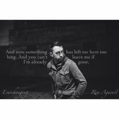 Everchanging - #Rise Against  #TimMcIlrath Another edit! Hehe  I may or may not be obsessed with this band.