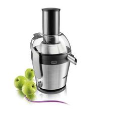 You will squeeze the very last drop of nutritious juice from your fruits and vegetables with this tough Philips Avance juicer. Small Kitchen Appliances, Kitchen Gadgets, Smoothies, Juice Maker, Juicer Reviews, Centrifugal Juicer, Juicer Machine, Fruit Juicer, Gastronomia