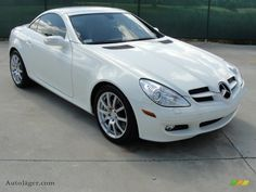 2006 Mercedes-Benz SLK 350 Roadster in Alabaster White - 127159 Mercedes Benz Slk 350, Convertible, Wind In My Hair, Maybach, Hot Cars, Luxury Cars, Cars For Sale, Dream Cars, Super Cars