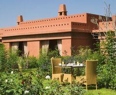 Photo Deco jardin : art déco à Marrakech // http://www.deco.fr/photo-deco/decoration-art-deco_jardin_arbres-fleurs-et-plantes/