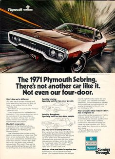 Plymouth Satalite