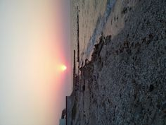 Chelem beach sunset
