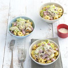 Was een groot succes vanavond! Recept - Snelle pasta met ham en pesto - Allerhande