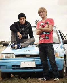 Chris Lilley and Chris Lilley - Angry Boys. I love this dude.