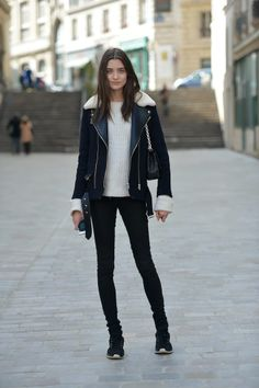 on the streets in Paris #PFW