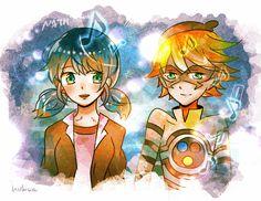 ♡ Miraculous Ladybug- Marinate and Nathaniel ♡