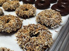 Kelly's Bake Shoppe Donuts!! Gluten-free and dairy-free, egg-free, peanut-free always :) Here every weekend.