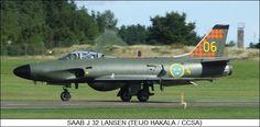 SAAB J 32 Lansen