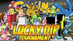 Minecraft [ITA] : Pixelmon Lucky Dip Challenge #01: TORNEO - CUCCIOLI PO...