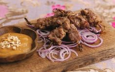Mini Lamb Satay Sticks Recipe