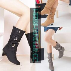 From relaxed to effectively attractive, try out on-trend mid-calf boots with the elite patterns and styles you will definitely completely love. Ankle Boots Outfit Winter, Winter Boots Outfits, Buckle Boots, Combat Boots, Moto Boots, Mid Calf Boots, Womens High Heels, Low Heels, Calves