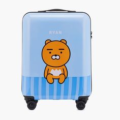 Kakao Friends Ryan Travel Luggage 21 inch ABS Trolley Spinner Carry On Suitcase  #KakaoFriends