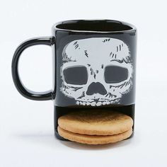 This mug, which will express their inner emo and hold two biscuits. | 26 Gifts For The Emo In Your Life