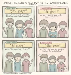 "The Right and Wrong Way to Say ""Guys"" at Work"