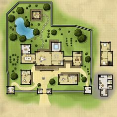 maps map rpg fantasy dungeon manor pathfinder l5r cartography building minecraft cities maker dragons magistrate modern dungeons steder temple shadowrun