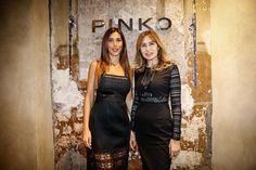 Pia e Giacinta Ruspoli during PINKO by Arzu Sabanci event in Rome for the launch of Spring Summer 2016 collection