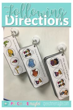 Increase your students ability to follow directions by teaching basic concepts, attributes, and conditional (if/then) items embedded into multi-step directions. These activities are great for speech therapy lessons or a great addition to any special education classroom. Laminate with use with a dry erase marker for extra engagement! #activitiesforkids #speechtherapy #preschool Articulation Activities, Speech Therapy Activities, Speech Language Therapy, Language Activities, Speech And Language, Toddler Activities, Receptive Language, Following Directions, Special Education Classroom