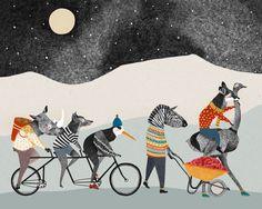 Illustration by Dutch artist Lieke van der Vorst