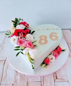 Heart Best Barbecue Sauce, Heart Cakes, Cream Cake, Vanilla Cake, Cake Decorating, Flower Cakes, Desserts, Daily Inspiration, Food