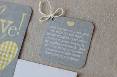 Baby shower - bring a book instead if a card!~~~ http://www.lindsayarnesoncreative.com/