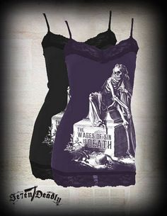 Alchemy England Rock Me Lyon Top size large alternative Gothic clothing,