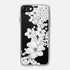 CHERRY RAIN WHITE by Monika Strigel iPHone 7 iPhone 7 Hülle by Monika Strigel   Casetify (DE)   $40  #casetifyiPhone7 #iphone7 #iphone7case #popular #cute #