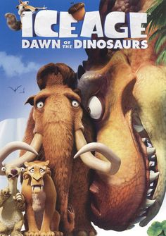 Shop Ice Age Dawn of the Dinosaurs [DVD] at Best Buy. Find low everyday prices and buy online for delivery or in-store pick-up. Dinosaur Movies For Kids, Dinosaur Dvd, Dinosaur Posters, Dinosaur Eggs, Ice Age Movies, Kid Movies, Movie Tv, Dreamworks Movies, Dragons
