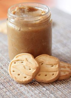 Cookie Butter made with Trefoils (The Girl Scout Shortbread Cookies) and basic ingredients you have around the house!