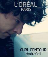 AHAHAHA Sherlock: L'oreal Paris Curl Contour Commercial