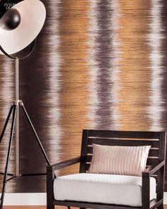 Editors' Picks: 96 Off-the-Wall Fabrics and Wallcoverings | J. Josephson's Shibori Type II vinyl wall covering by Bolta Wallcovering #design #interiordesign #interiordesignmagazine