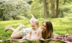 Mommy & Me, Spring Time, St. Louis Photographer, ,Creve Coeur Park