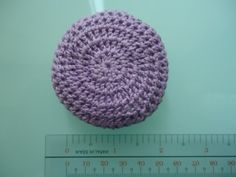 Barbie Round Pillow (Free Crochet Pattern)