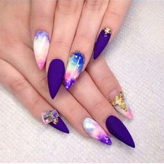 Not the shape, but the designs! Wow honestly I didn't like the shape of the nails but WOW look at the design