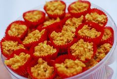 Cornflakes and honey and butter mmm. Honey Cornflakes, Mama Recipe, Malaysian Food, Malaysian Recipes, Thumbprint Cookies, Pastry Cake, Middle Eastern Recipes, Cake Cookies, Sprinkles