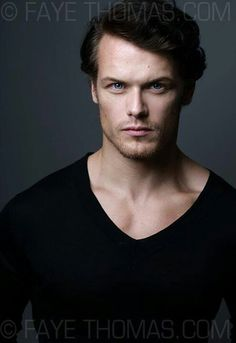 Sam Heughan could 100000% be Rowan (...if you changed his hair, and added tattoos, obvi.). <3