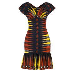 """""""Makonga Dress african sunset"""" www.lenahoschek.com"""