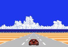 vgjunk:  Rad Racer II, NES.