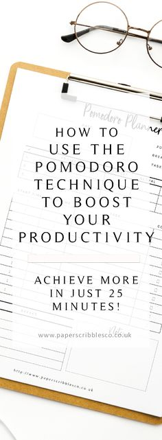 28 Best Pomodoro technique images in 2019 | Time management