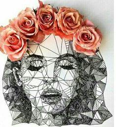 Imagem de art, lana del rey, and flowers
